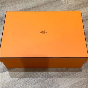 Hermes empty box 12 x 8 x 4.5